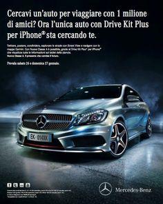 Passate a trovarci domani e Domenica per un test Drive gratuito della Nuova Classe A Mercedes-Benz e per scoprire un'offerta valida solo questo weekend!