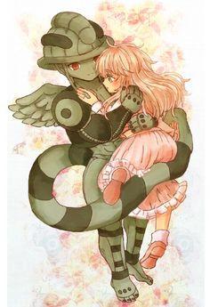 Meruem and Komugi        ~Hunter X Hunter