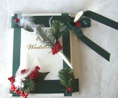 cool gift tags/ornaments. Winter Wedding Guest Book Alternative - 25 ...