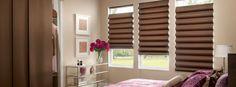 Persianas Romanas, un diseño clásico que te permitirá llenar de elegancia tu hogar.