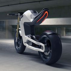Naked Electrocycle Concept Bike