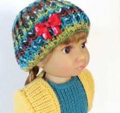 My First Dress knitting pattern for 18 inch Kidz doll