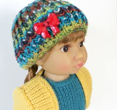 My First Dress knitting pattern for 18 inch Kidz doll