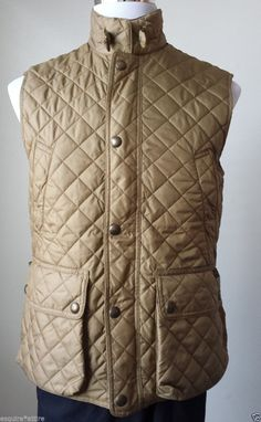 #POLO Ralph Lauren Quilted vest Size S Gold Color NWT (great fall jacket ) RalphLauren visit our ebay store at  http://stores.ebay.com/esquirestore