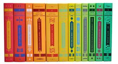 Nice! Colorful.  One Kings Lane - Classics Revisited - S/12 Colorful Literary Classics