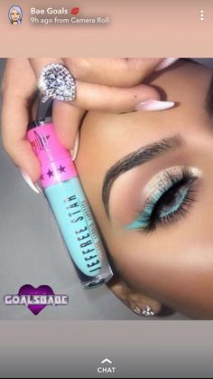 Makeup Tips, Eye Makeup, Makeup Ideas, Beauty Hacks, Beauty Tips, Nails