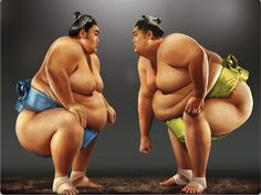 "Sumo wrestlers are known as ""rikishi"" in Japanese. Every wrestler belongs to a particular stable in Japan, which is ruled by a retired wrestler known as ""oyakata"", meaning boss. #sumo #tradition #japaninfo"