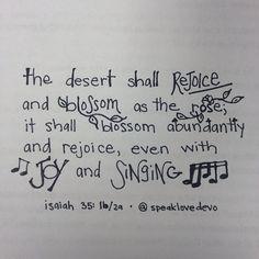 Isaiah 35:1b/2a