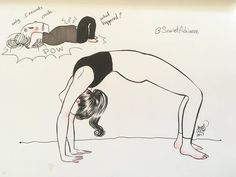The wheel pose. A new year has begun! I want to share with you that I've been a lazy woman! Almost all of December I haven't made time to do a proper yoga routine! 😱😱😭 and I've paid for it today! This pose made me regret it. I wasn't. Kundalini Yoga, Yoga Meditation, Yoga Cartoon, Frases Yoga, Yoga Drawing, Yoga Illustration, Chair Pose, Expectation Vs Reality, Yoga Positions