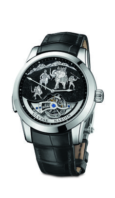 Ulysse Nardin unveils its BaselWorld 2015 timepiece – the Hannibal Minute Repeater Westminster Carillon Tourbillon Jaquemarts. Stylish Watches, Luxury Watches For Men, Cool Watches, Men's Watches, Pocket Watches, Westminster, Ulysse Nardin, Tourbillon Watch, Watch Blog