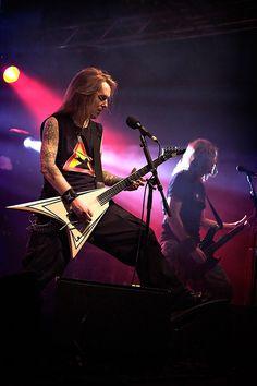 children of bodom gggggo! Alexi Laiho, Children Of Bodom, Power Metal, Alternative Music, Save My Life, King James, Wild Child, Death Metal, Cob