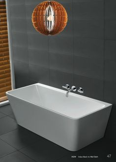 Newtech - Indus back-to-wall Bath Loft Bathroom, Bathroom Ideas, Back To Wall Bath, House Renos, Complete Bathrooms, Innovation, House Ideas, Bathtub, Vanity