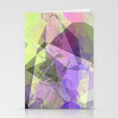 Polygon Stationery Cards by Fine2art - $12.00