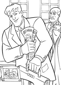 Batman and Nightwing Coloring Pages | LineArt: Batman ...