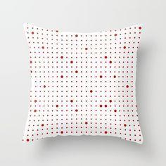 Big & Small Polka Dots III Throw Pillow