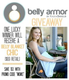 Win your own belly blanket and protect your baby from wi-fi and radiation! | #bellyarmor #pregnanacyproducts
