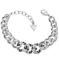 LNR004 GUESS náramok  #supersperky #krasnesperky #guess #luxusnesperky #sperky Guess, Swarovski, Product Description, Bracelets, Jewelry, Silver, Bangle Bracelets, Jewels, Neck Chain