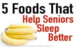 5 Foods That Fight Senior Insomnia