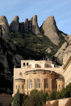 Montserrat Monastery, Catalunya, Spain. HMML has copies of 398 manuscripts from this Monastery's library. View their info here: http://www.hmml.org/research2010/catalog/catalogue_searchMS.asp