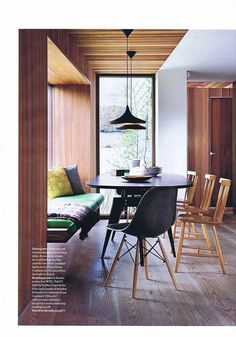 Rather than a booth for dining we would be open to a nook/bench idea so we can still have dinner parties.
