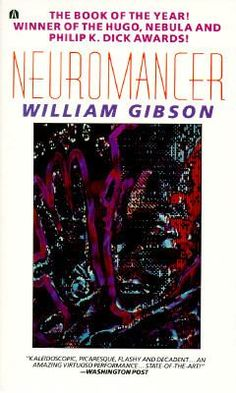 Neuromancer by William Gibson (1985): Case was the hottest computer cowboy cruising the information superhighway. Then he double-crossed the wrong people, who caught up with him in a big way and burned the talent out of his brain. Banished from cyberspace, trapped in the meat of his physical body, Case courts death in the high-tech underworld until a shadowy conspiracy offers him a second chance and a cure.