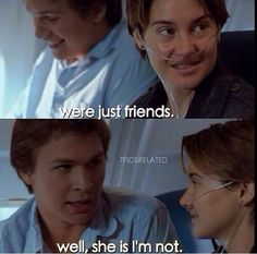 the fault in our stars- This was such a cute and sad movie!!