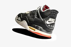 """b33e4d364f0c Nike Compares All 5 Versions of the Nike Air Jordan 4 """"Bred"""""""