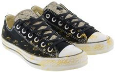 CONVERSE Limited Edition Low All Star Black & Gold