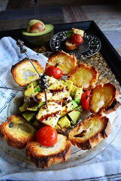 5分で乾杯 レモンチーズとアボカドのバルサミコ焼きをバルスタイルで #TAPAS |レシピブログ