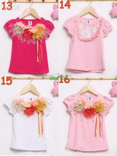 girls-t-shirts-b2w2-children-flower-tops.jpg 800×1.066 píxeles