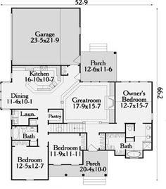 images about Lake House    on Pinterest   Boat Dock  Lake    First Floor Plan image of Meadow Lake House Plan Simple  but good layout
