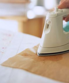 How Do I Remove Melted Wax From Table Linens?   Real Simple answers your questions.