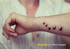 small wrist tattoos for men - Google Search