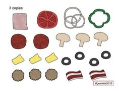 Pizza Scramble- A free Auditory Processing, Sequencing, -- Repinned by @PediaStaff – Please Visit ht.ly/63sNtfor all our pediatric therapy pins