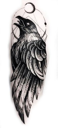 Tattoo designs ideas inspiration tatoo 24 Ideas for 2019 Hand Tattoos, Ribbon Tattoos, New Tattoos, Body Art Tattoos, Tattoos For Guys, Crow Tattoo For Men, Dark Tattoos For Men, Viking Tattoos For Men, Black Crow Tattoos