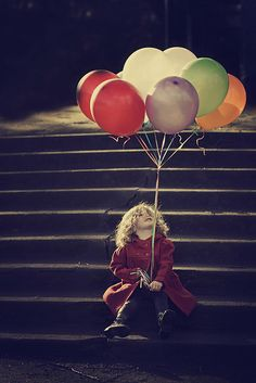 Remember those times as a child when you got a balloon and it slipped and lifted to the sky. That can be a lot like love. People can slip right out.