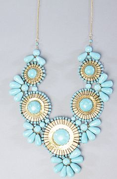 One day I will actually have the guts to wear statement jewelry...