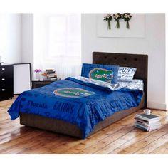 NCAA University of Florida Gators Bed in a Bag Complete Bedding Set