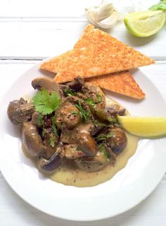 Curried Mushrooms on Toast #wwflavoursociety | Without the toast ...
