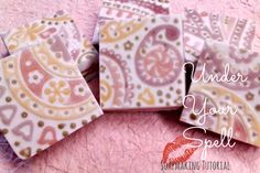 Under Your Spell – Melt and Pour Clay Tutorial from Brambleberry.  I LOVE these!  #brambleberry