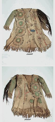 Crow or Hidatsa shirt early 19th century NMAI ac