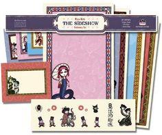 DHorse Deluxe Stationery Set: Mizna Wada The Sideshow Stationery Set  DHorse Deluxe Stationery Set: Mizna Wada The Sideshow Stationery Set