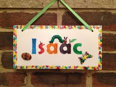 Very Hungry Caterpillar Plaque - The Supermums Craft Fair