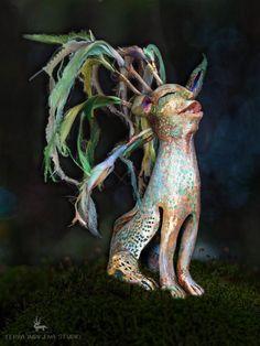 """daiMONIon - protective little creature"" by Terra Indigena Studio"