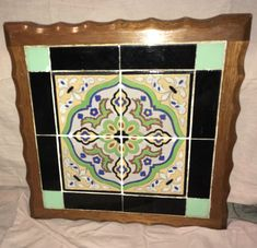 vintage California tile Tables / Monterey Furniture | eBay Tile Tables, Vintage California, Spanish, Frame, Ebay, Furniture, Home Decor, Picture Frame, Decoration Home