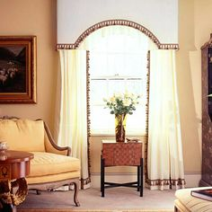 Upholster an Arched Cornice Box
