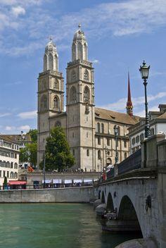 Grossmünster, Zurich, SWITZERLAND.   (by Alyona Gubar, via 500px)