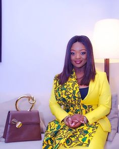 We brought you various style episodes of Jackie Appiah, although we have just recently discovered her new love for jackets, blazers and suits and she is giving African Dresses For Women, African Attire, African Women, African Wear Designs, Dressing Your Body Type, African Print Fashion, Ankara Fashion, Fashion Dresses, Ankara Short Gown Styles