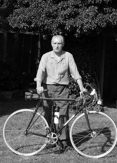 Maker of flying gate bicycles, Trevor Jarvis