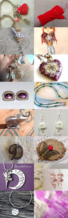 Valentines by Kellee and Dorian Thomas on Etsy--Pinned with TreasuryPin.com